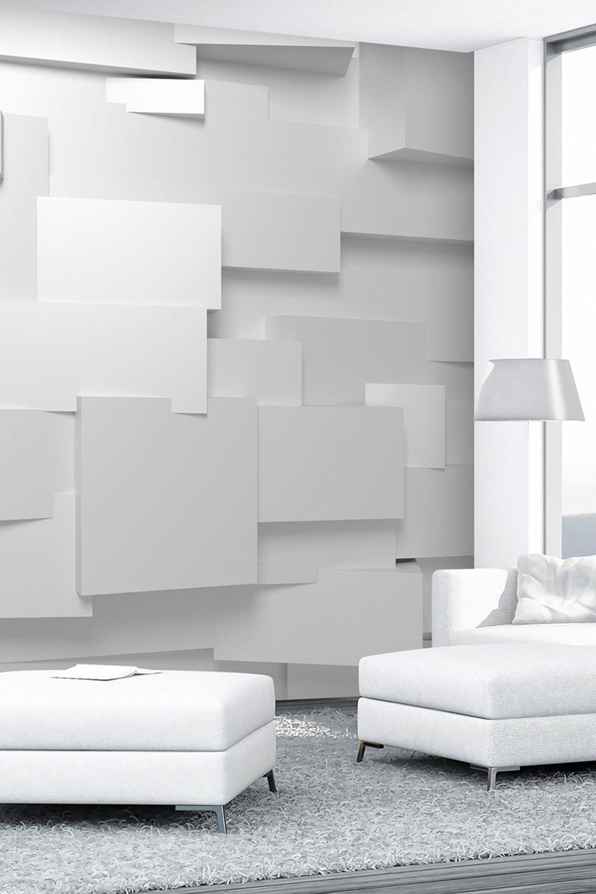 My 3d Room Design: 3D Effect 8-Panel Wall Mural