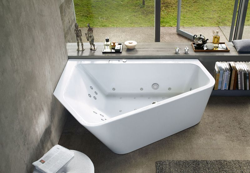 A New Bathtub Design That Is Perfect For Two People Bathtub