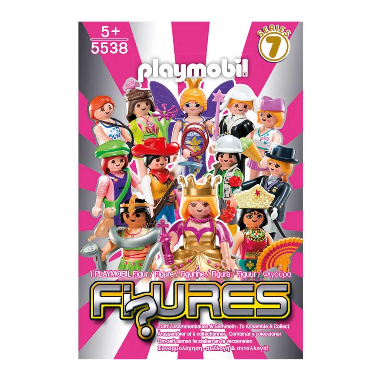 5538 figures filles s rie 7 playmobil pour enfant de 3 ans 8 ans oxybul veil et jeux 2. Black Bedroom Furniture Sets. Home Design Ideas