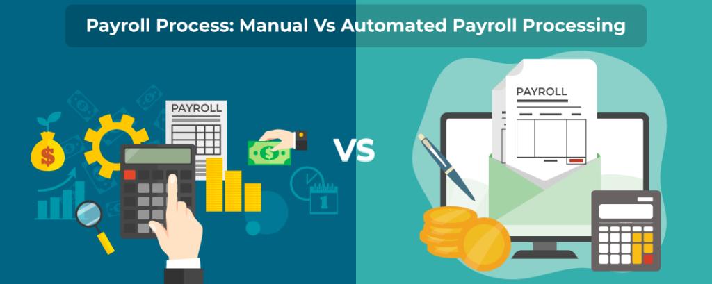 Payroll Process Manual Vs Automated Payroll Processing Payroll Payroll Software Billing Software