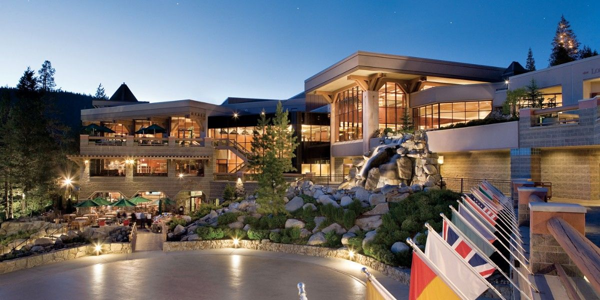 Resort at Squaw Creek: Resort at Squaw Creek is a classic mountain retreat on the slopes of Squaw Valley.