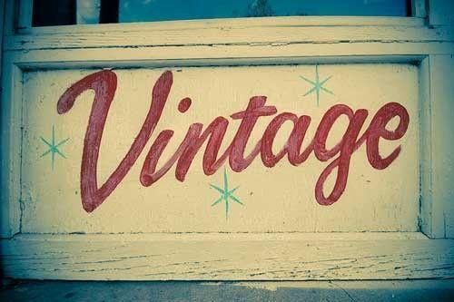 Vintage!!