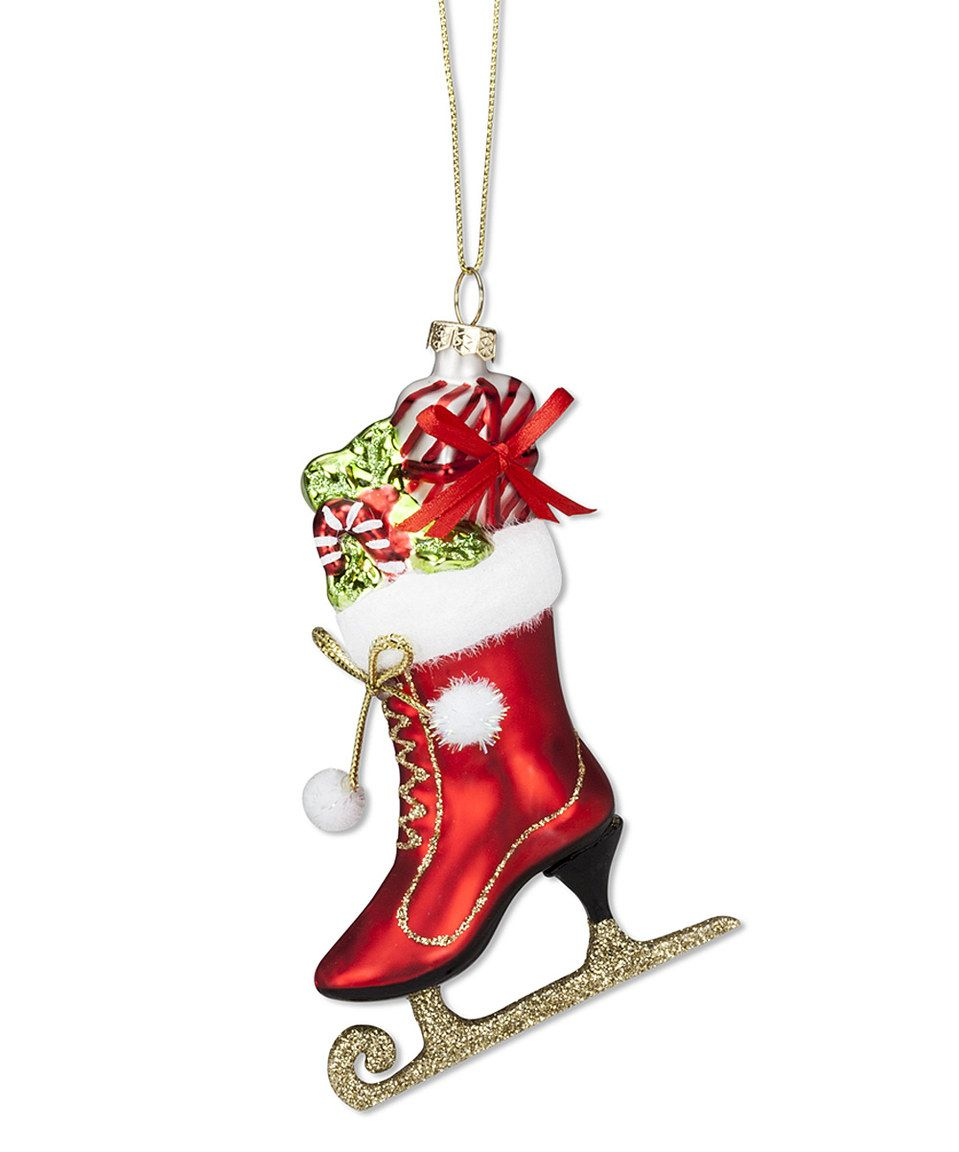 Loving this Ice Skate & Presents Ornament on #zulily! #zulilyfinds ...