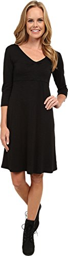 ToadCo Womens Rosalinda Jersey Knit Dress Black Dress MD *** More info could be found at the image url.