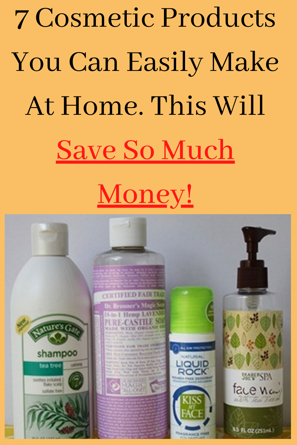 7 Cosmetic Products You Can Easily Make At Home This Will Save So Much Money In 2020 Today Tips How To Make Cosmetics