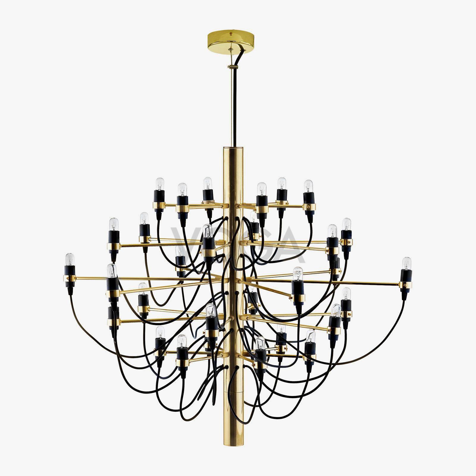 Gino Sarfatti Chandelier Designer Lamps Voga In 2020