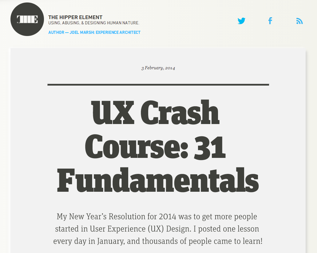 Ux Crash Course 31 Fundamentals Crash Course User Experience Design Experience Design