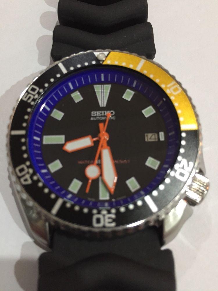 Details about Vintage Scuba Automatic Diver's Watch 7002