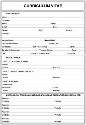 Curriculum vitae para imprimir curr culo patricia for Nomina en blanco para rellenar word