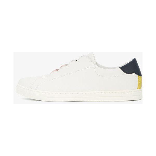 stud detail sneakers - White Fendi iyyLpS