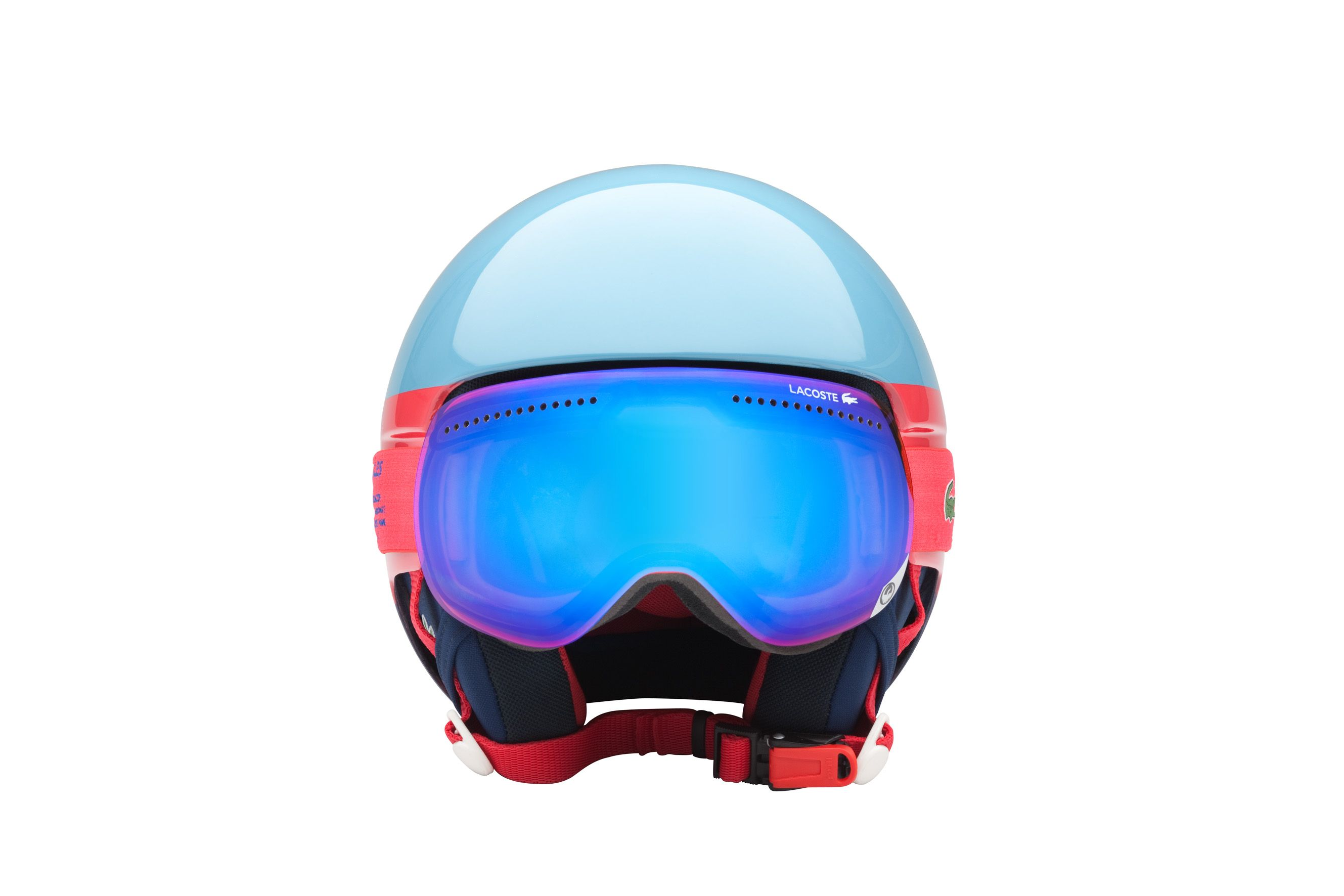 Lacoste Lab for Lacoste L!VE Snow Helmet. Engineered by