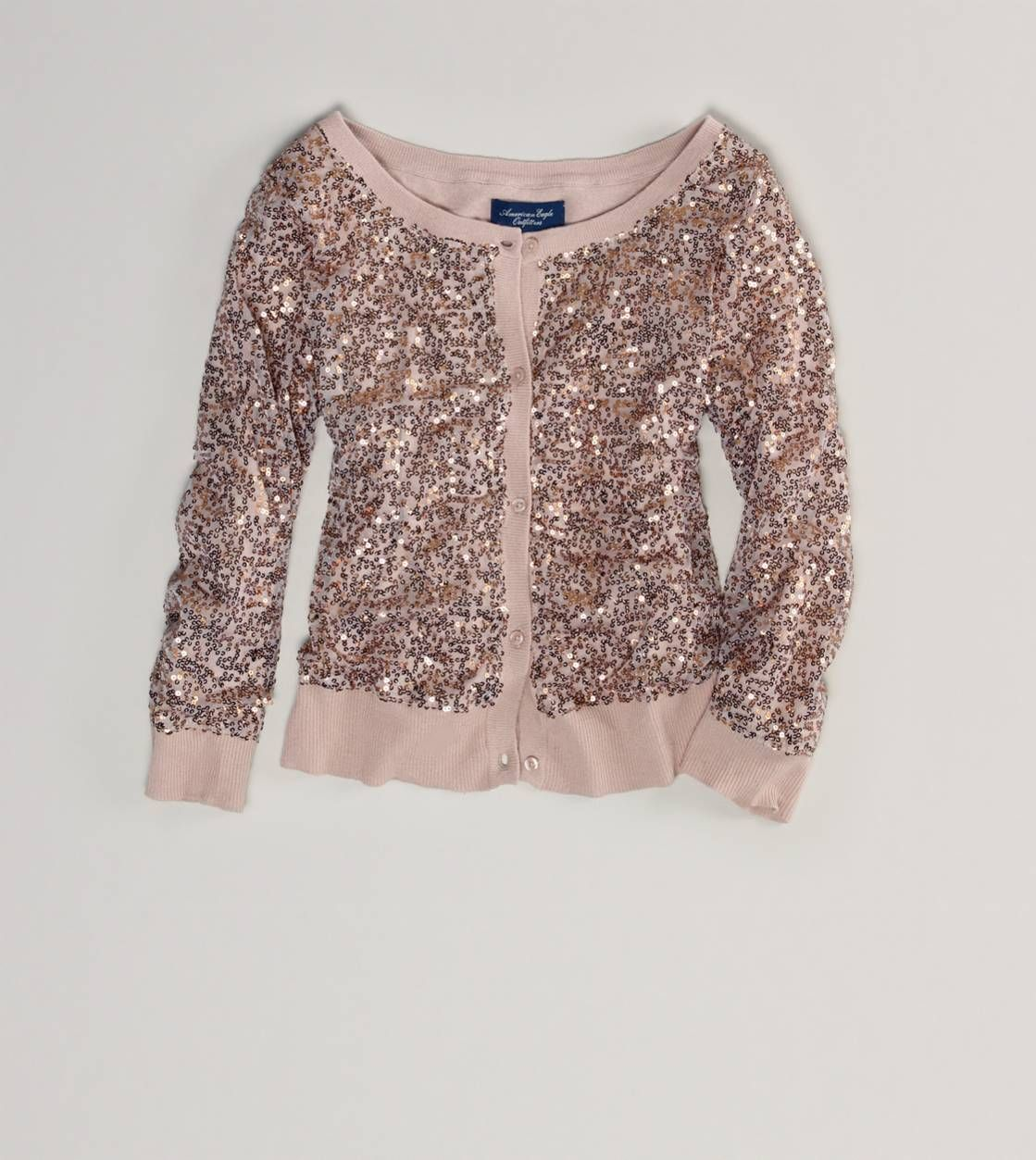 AE Sequined Crop Cardigan | I would wear that | Pinterest ...