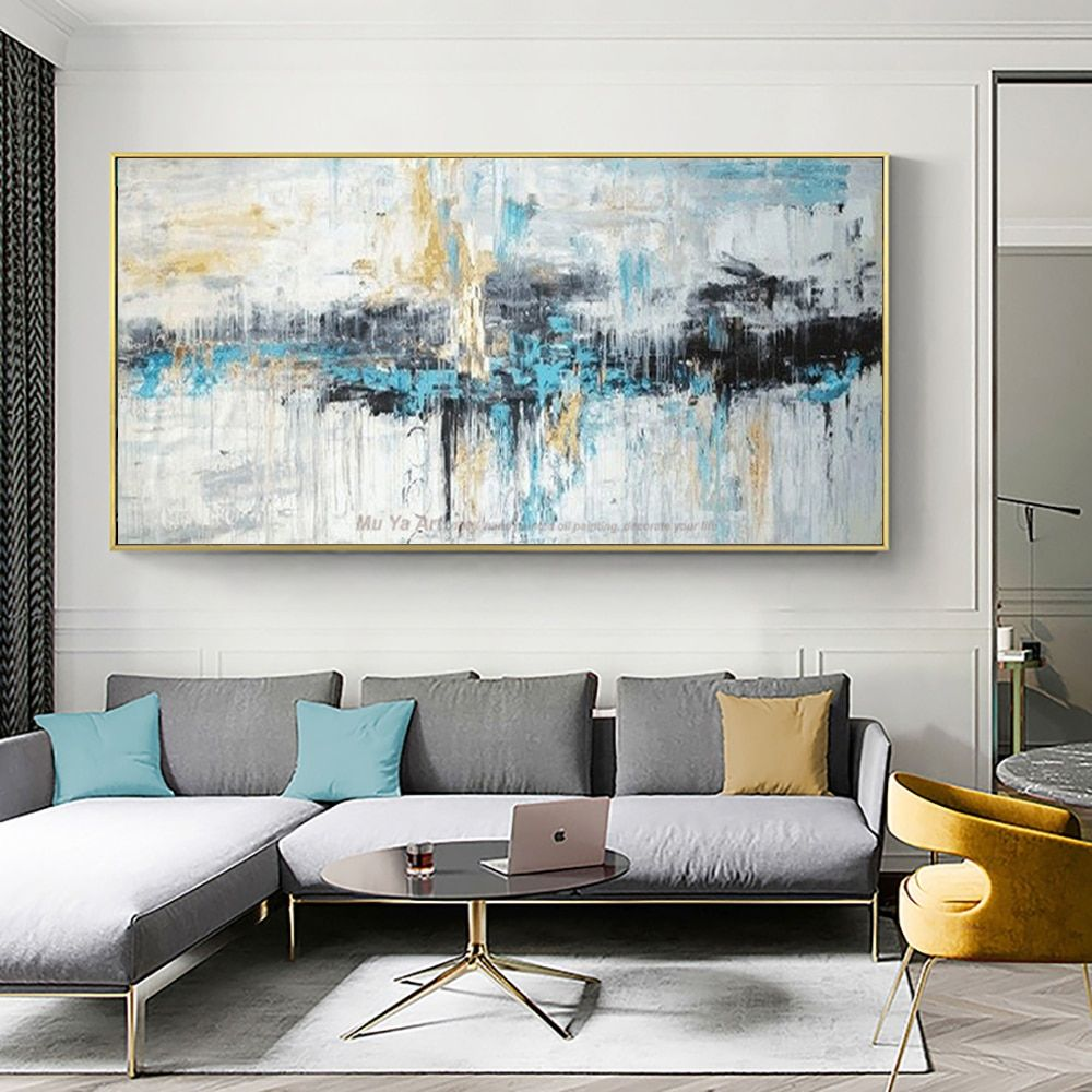 Cheap Art Painting Buy Quality Oil Painting Directly From China Handmade Oil Painting In 2020 Wall Art Living Room Large Wall Art Living Room Modern Living Room Wall #painting #picture #for #living #room