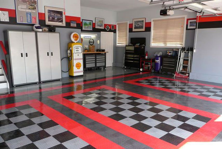 The 8 essentials for every garage tile manufacturers for Dream home flooring manufacturer