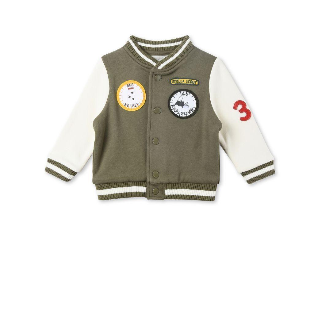 Stella McCartney Kids Boys Joey Tiger Pullover Sweater