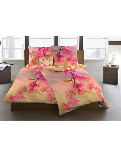 Diese wunderschöne Bettwäsche wurde exklusiv für PranaHaus entworfen und in Deutschland produziert.