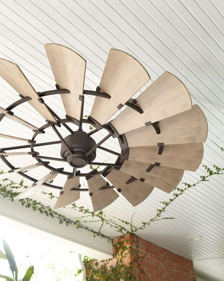 Windmill Bronze 60 Outdoor Ceiling Fan