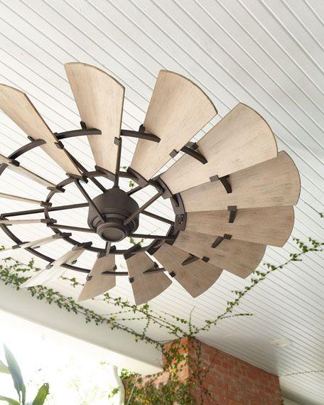 Windmill Bronze 60 Outdoor Ceiling Fan