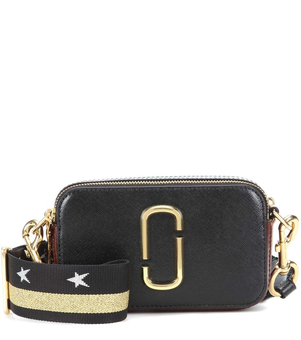6e939cb546e7a MARC JACOBS Snapshot Small leather camera bag.  marcjacobs  bags  leather   lining  accessories  metallic  shoulder bags  wallet  cosmetic