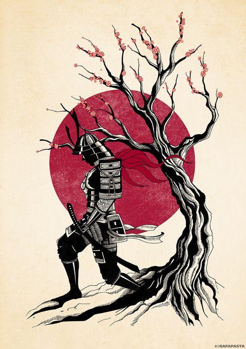 Japanese Design Tumblr Samurai Art Japanese Art Samurai Japanese Art