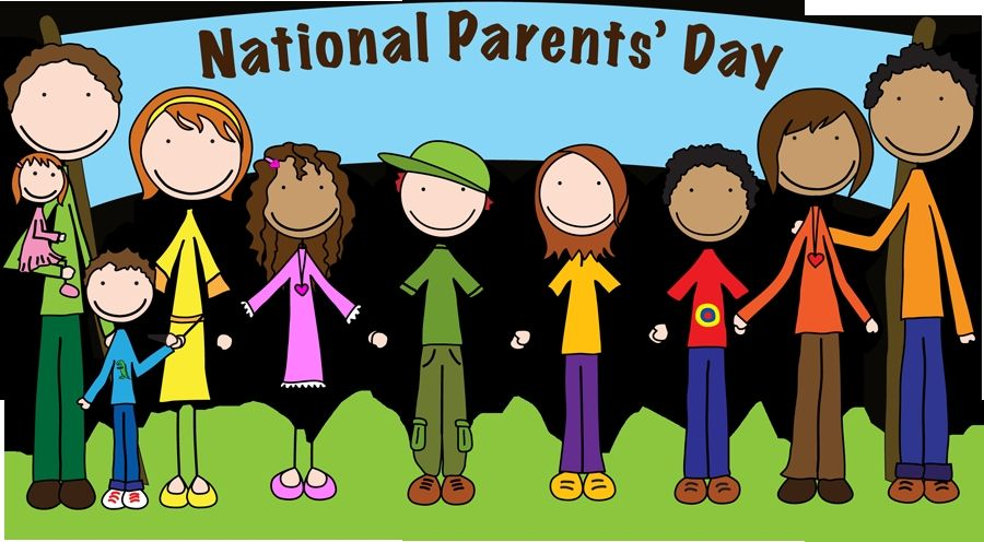 National Parents Day At Holiday Insights Parents Day Clip Art Happy Parents