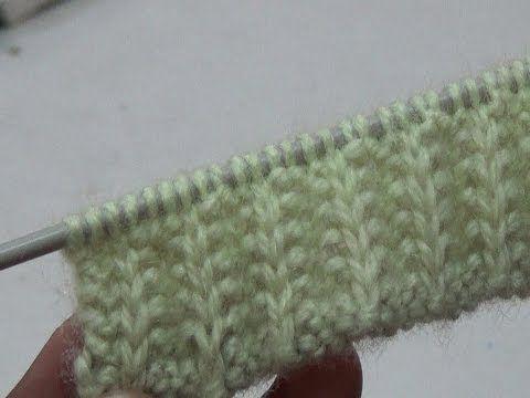 dd1d36c47 Knitting Stitch pattern no - 16 Hindi - बुनाई डिजाइन ...