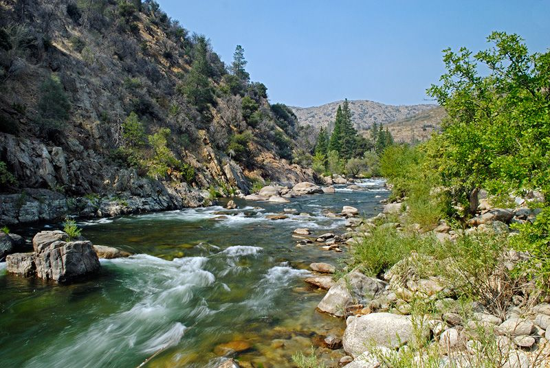Kern River! My home away from home :) Just plop a chair in
