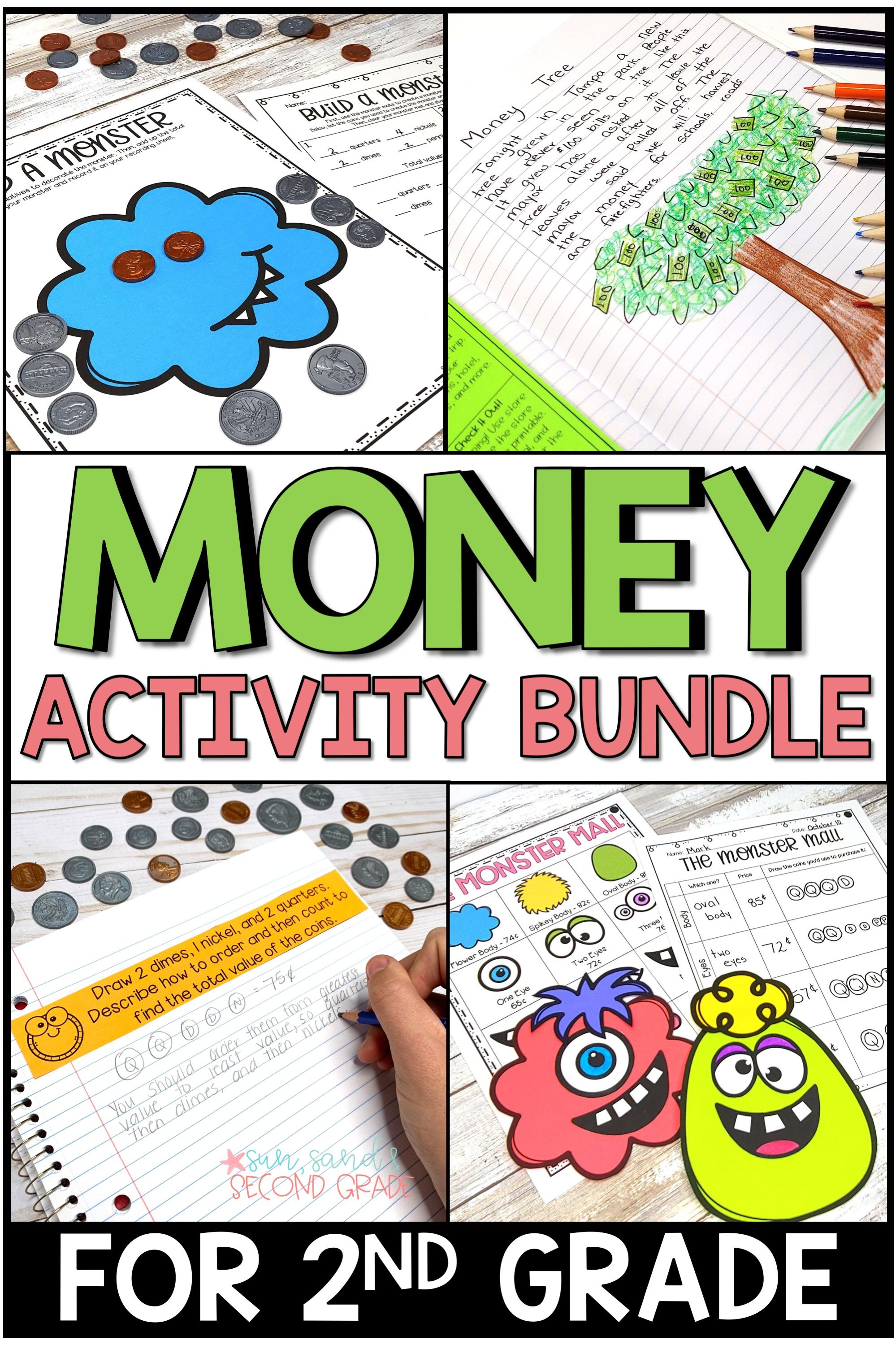 Money And Coins Activities Bundle