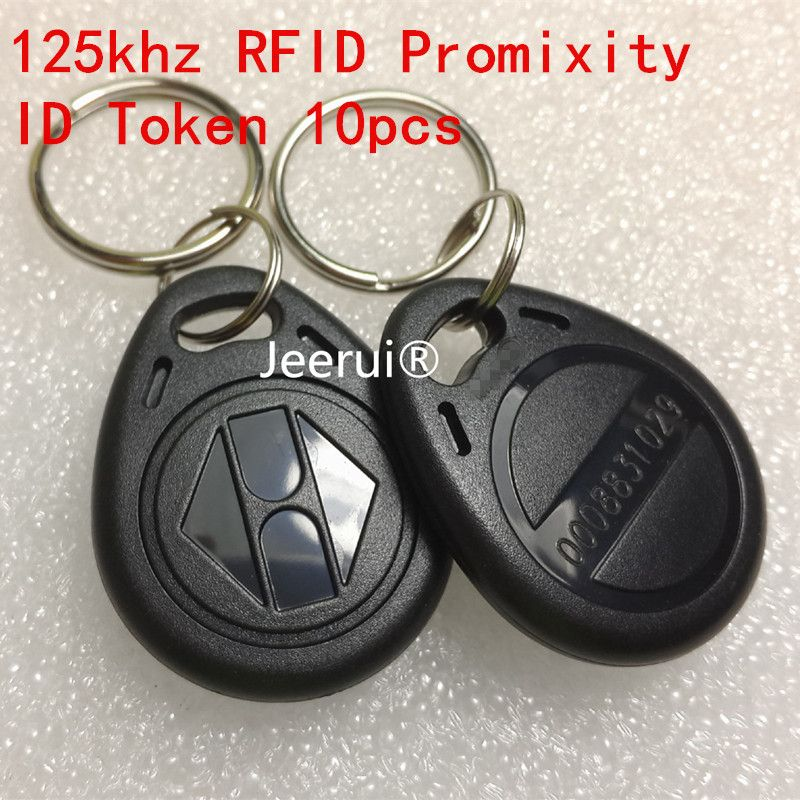 125khz Proximity 3h Em4100 Chip 125 Khz Rfid Id Token Keychain Rfid Key Ring Id Tag For Hotel Door System Switch Power 10pcs Price 8 99 Free Shipping