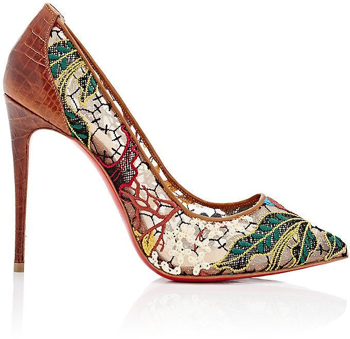 latest cheap online purchase online Christian Louboutin Follies Lace Pumps FF1dAFlr