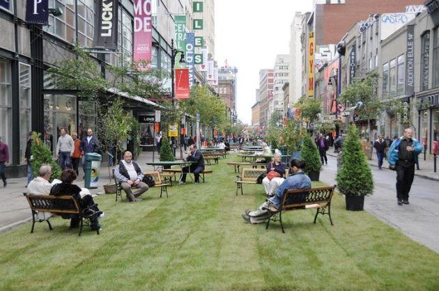 Pedestrian street, Streetscape design, Street