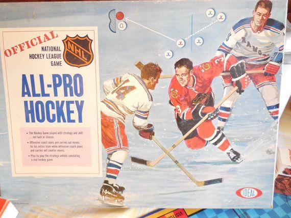 1969 National Hockey League All-Pro Hockey by Daysgonebytreasures