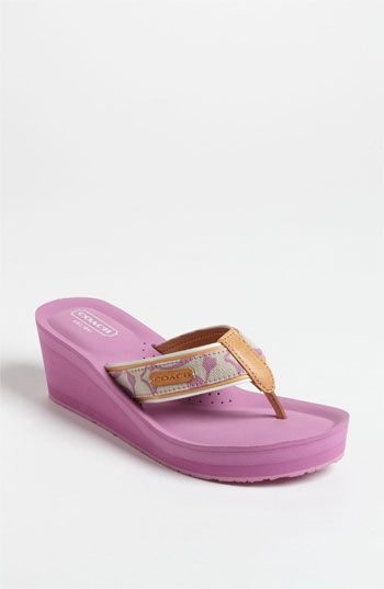 36fbe2279e3f COACH  Juliet  Flip Flop available at  Nordstrom