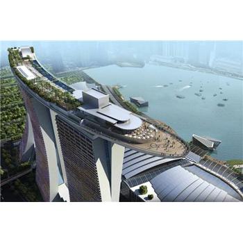 Prêt pour le 21/12/2012.    Marina Bay Sands, Singapour