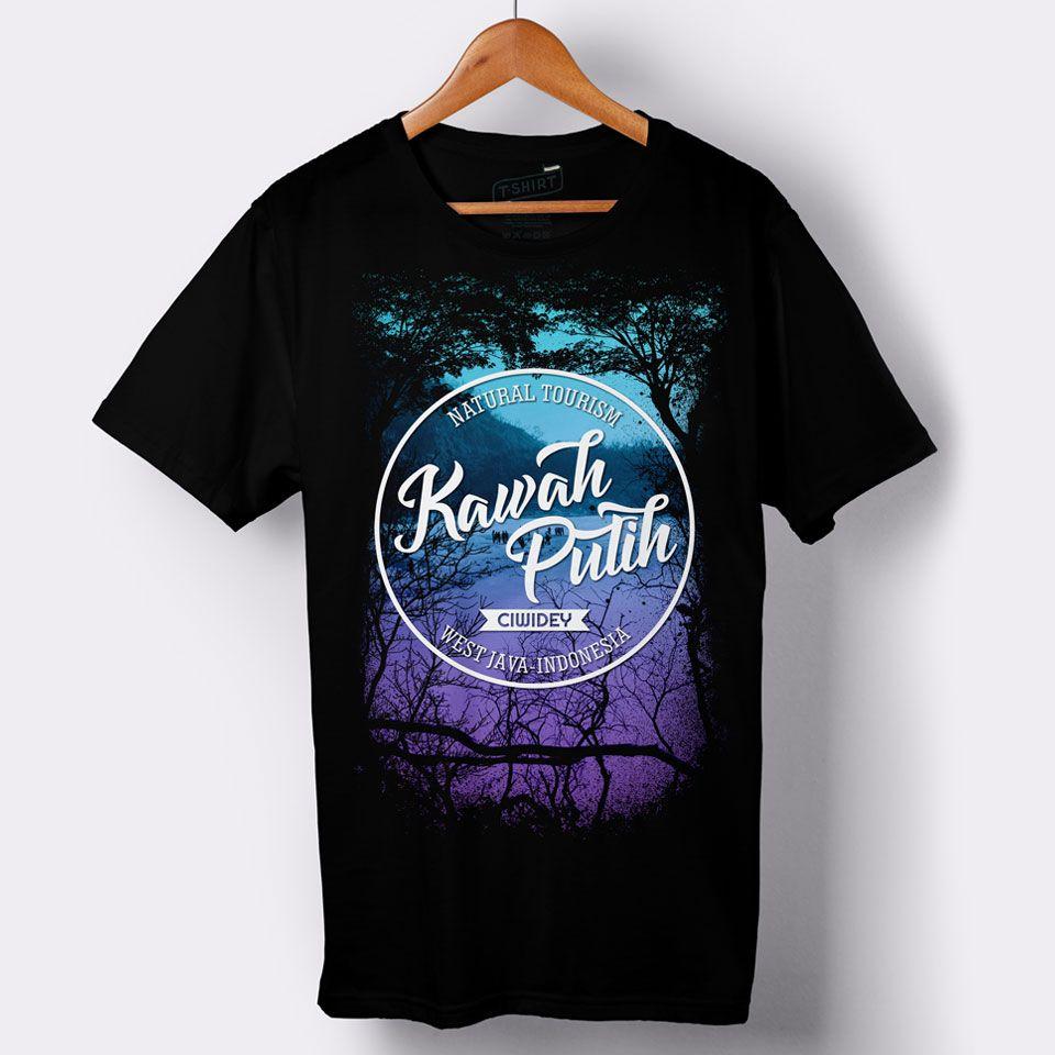 Souvenir T Shirt Design For Kawah Putih West Java Indonesia Tendencies Tshirt Imagine Line L