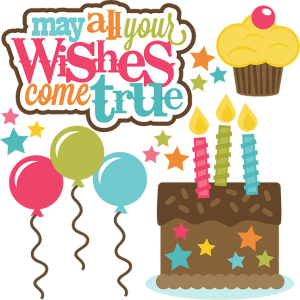 may all your wishes come true svg files for cutting machines rh pinterest com