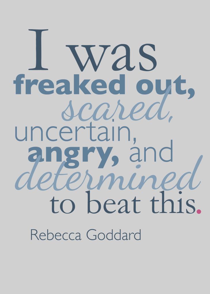 """Marathon Mama: Rebecca Goddard - Wendy Nielsen - breast cancer survivor stories....""""DITTO!"""""""