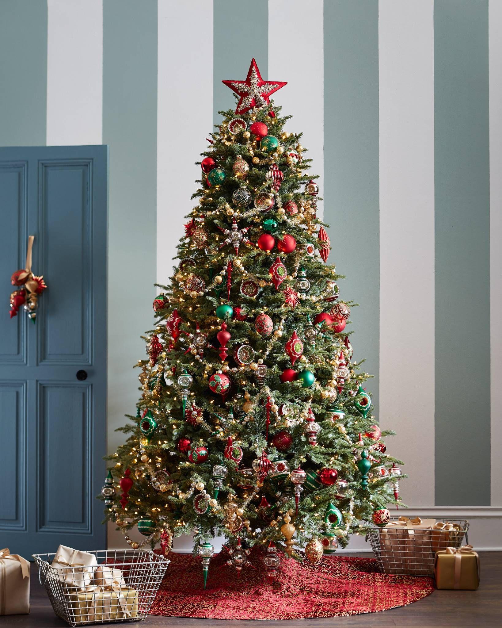 Bh Fraser Fir Artificial Christmas Trees Balsam Hill Christmas Tree Garland Gold Christmas Tree Cool Christmas Trees