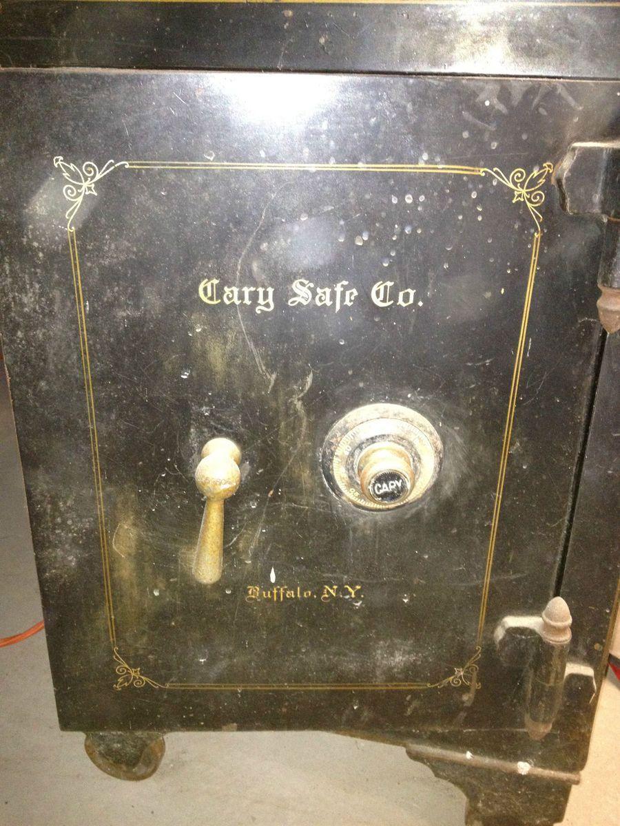 Antique Floor Safe Cary Safe Co Buffalo NY   Safe cracking ...