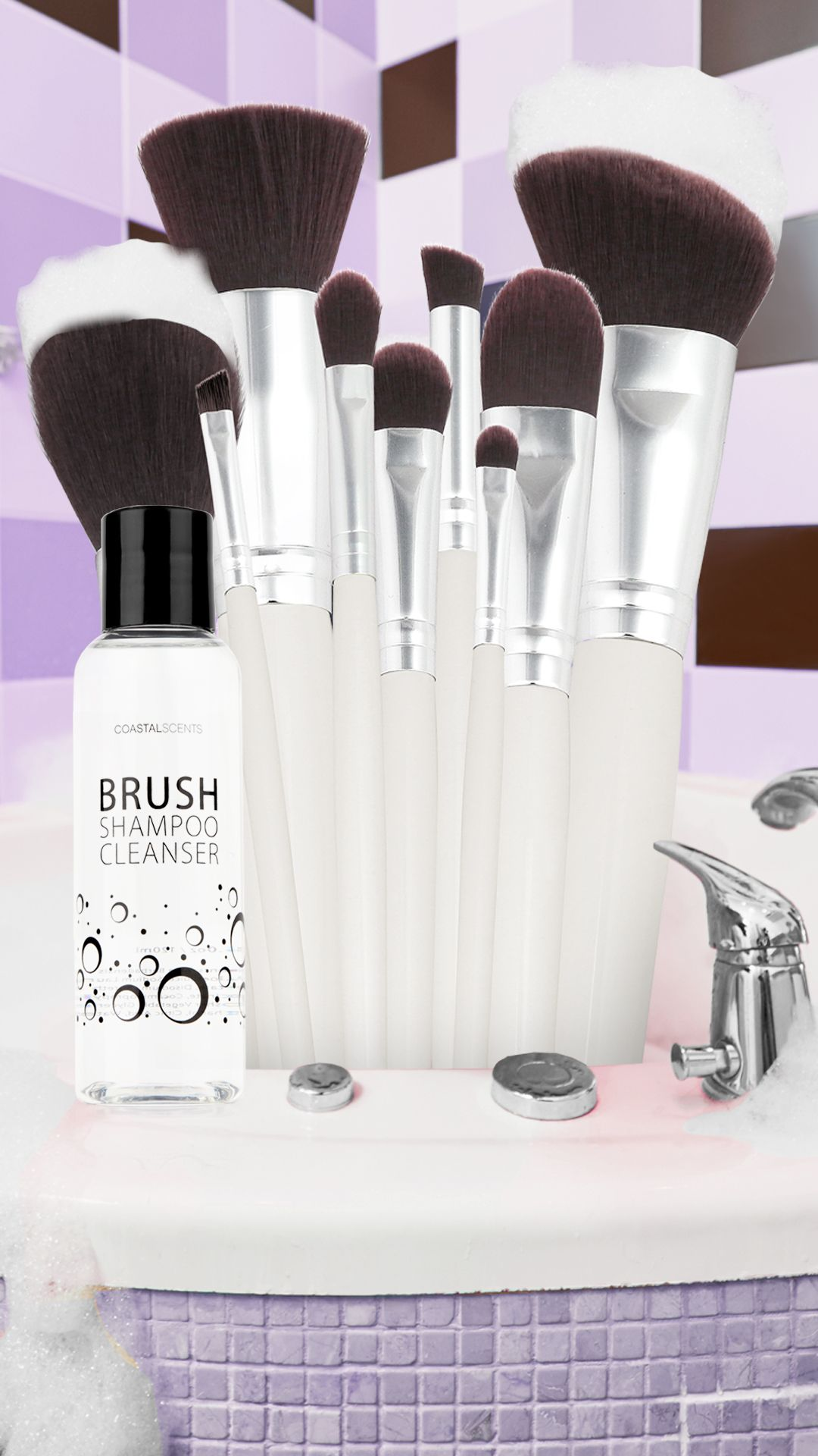 Free Brush Shampoo with Every Brush Set Purchase! 🛁 For a