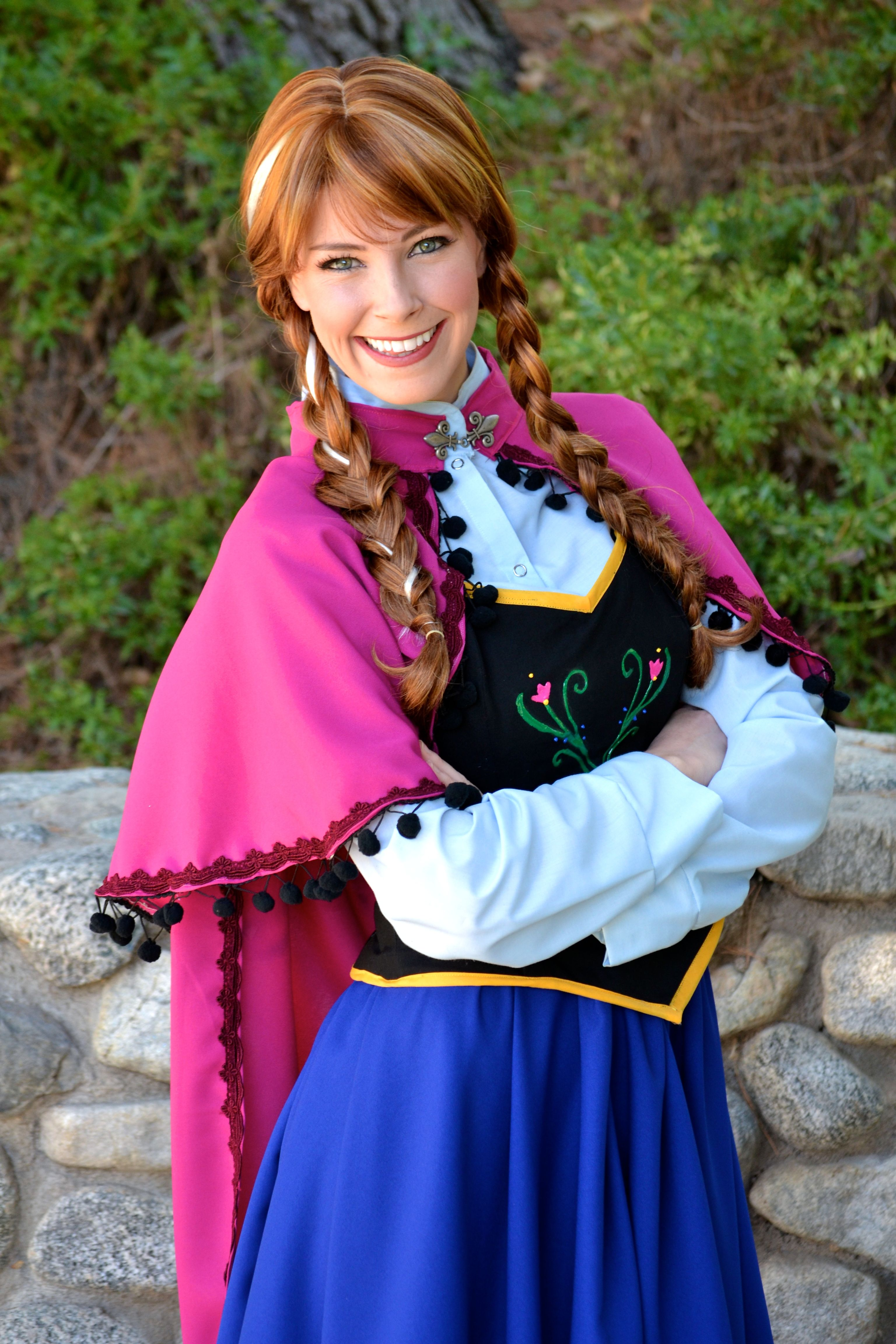 Princess anna kelsie from frozen head to - Princesse frozen ...