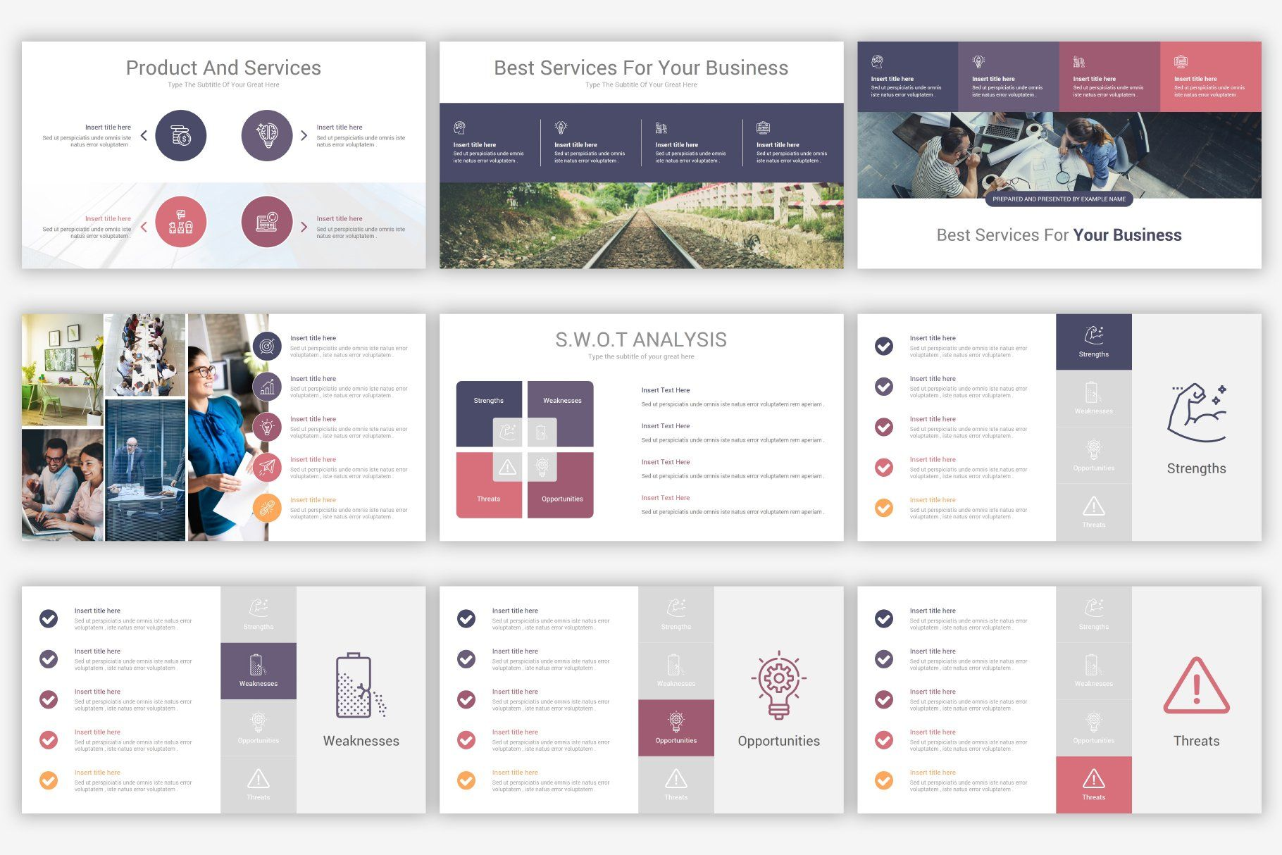 Company Profile PowerPoint Template in 2020 Powerpoint