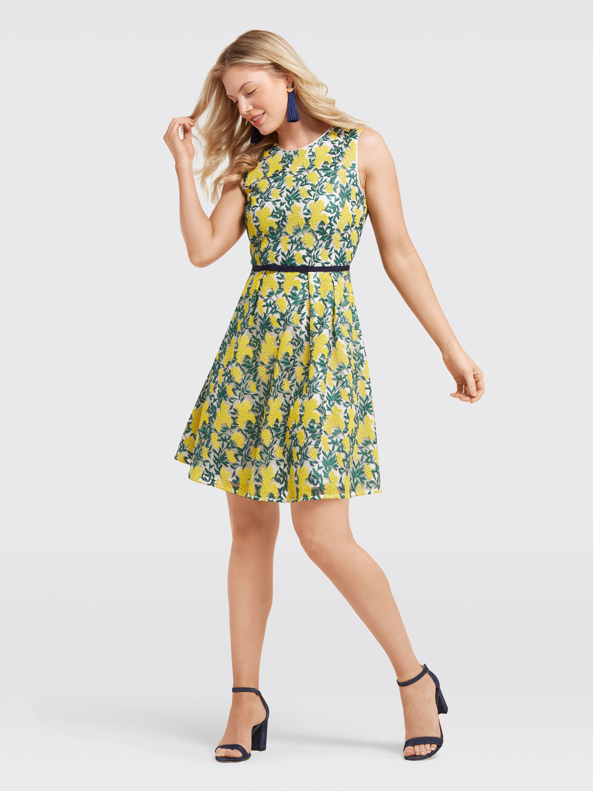f0c43beb6b76a Draper James - Collection Embroidered Madeline Dress   Products ...