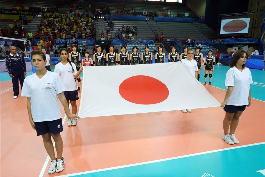 il Giappone affronta il Belgio al PalaFlorio di Bari