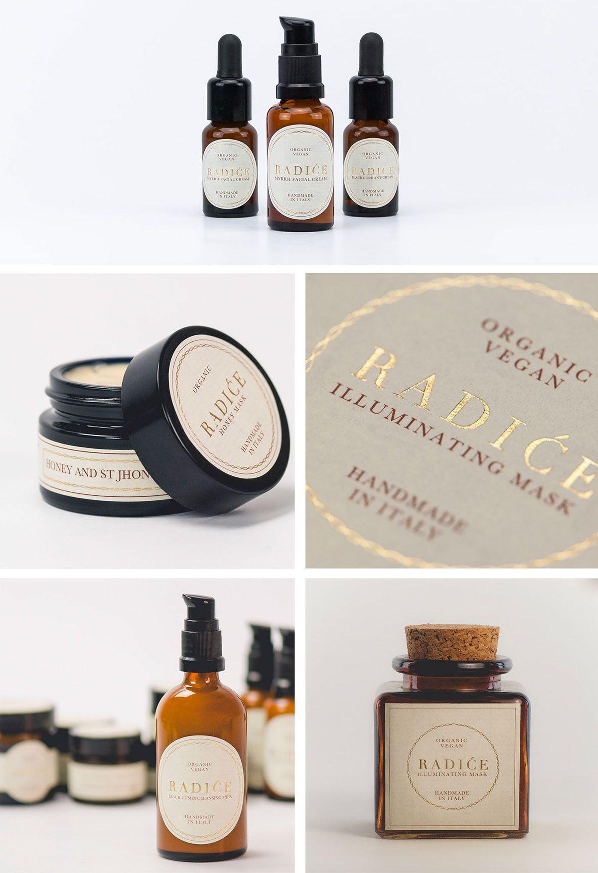 Radiće Organic / Vegan Cosmetics on Behance (With images