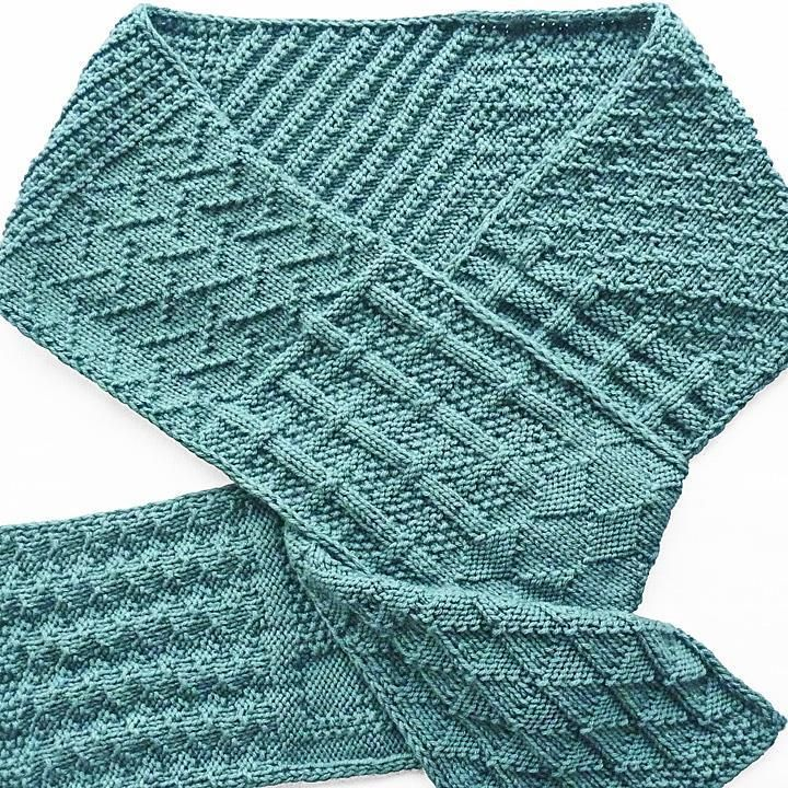 Simple Sampler Scarf Scarves Crochet Crafts And Tricot