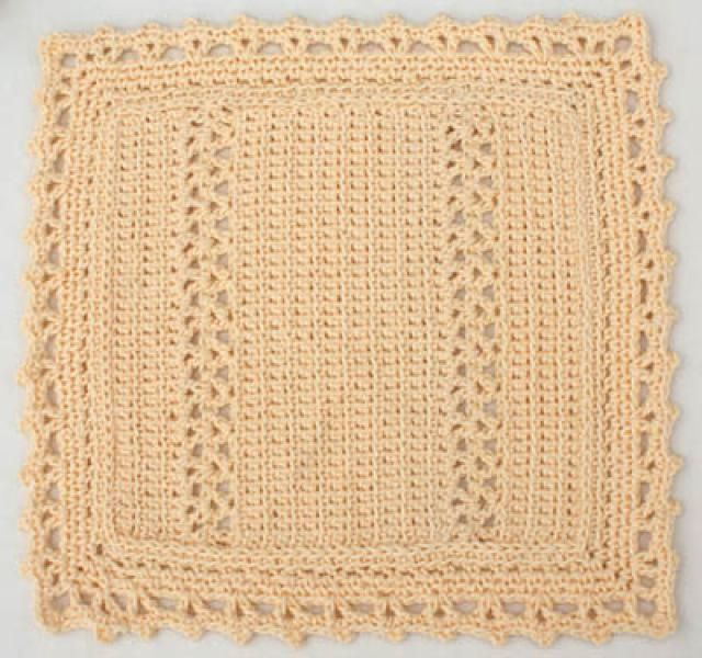 Learn How to Crochet a Cotton Dishcloth with This Step-by-Step Guide