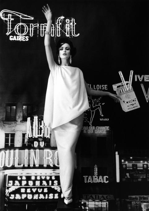 William Klein - 1960 for Vogue, Paris