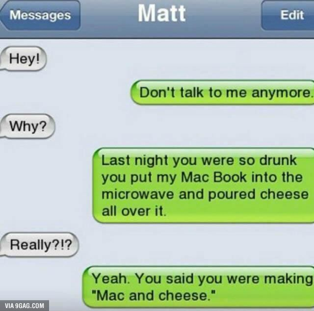 Mac and Cheese - Funny
