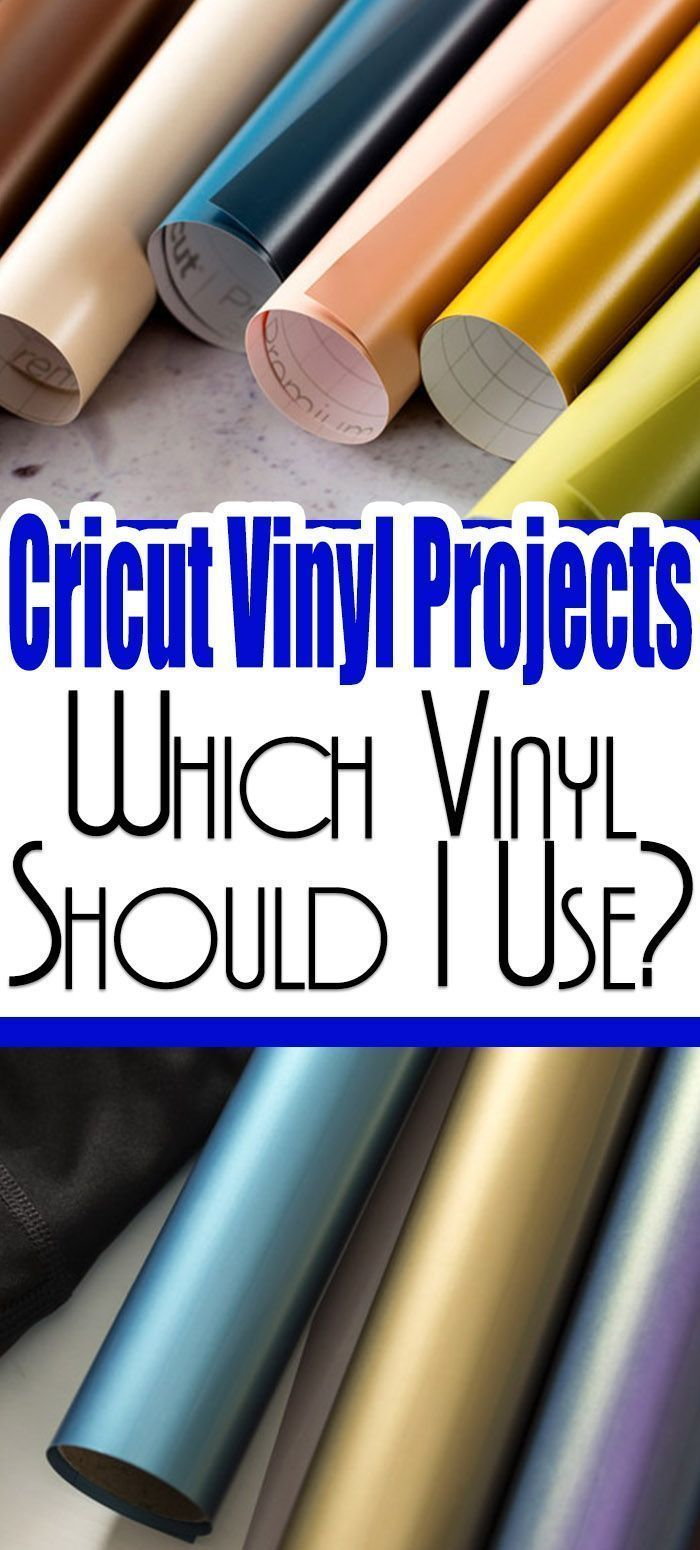 Cricut Vinyl Projects | Which Vinyl Should I Use